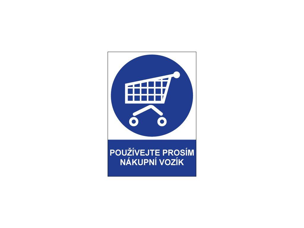 00714 Používejte prosím nákupní vozík