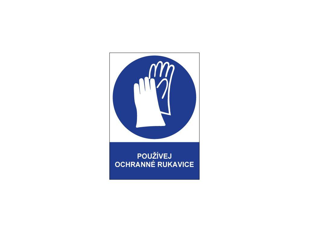 00718 Používej ochranné rukavice