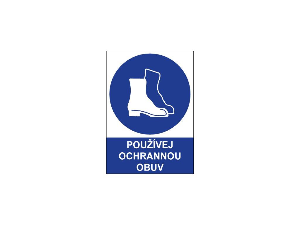 00723 Používej ochrannou obuv