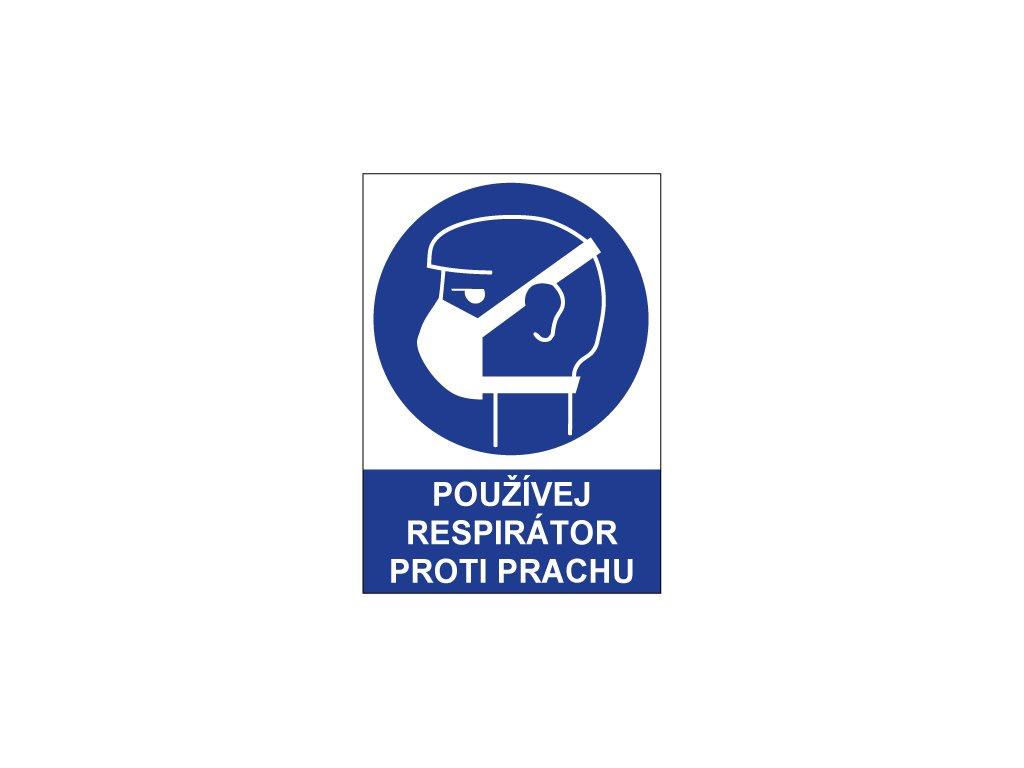 00725 Používej respirátor proti prachu